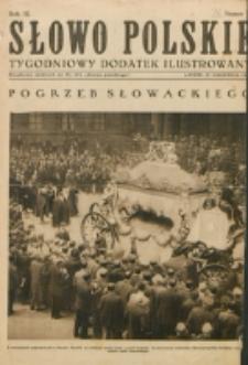 """Słowo Polskie : tygodniowy dodatek ilustrowany. R. 3, nr 26 (1927). : bezpłatny dodatek do Nr 176 """"Słowa Polskiego"""