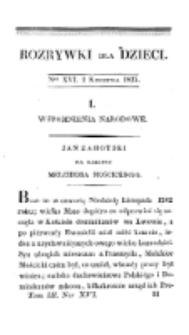 Rozrywki dla Dzieci. R. 2, T. 3, nr 16 (1825)