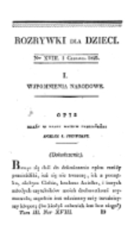 Rozrywki dla Dzieci. R. 2, T. 3, nr 18 (1825)