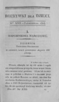 Rozrywki dla Dzieci. R. 2, T. 4, nr 22 (1825)