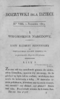 Rozrywki dla Dzieci. R. 1, T.2, nr 8 (1824)