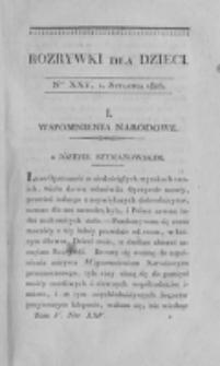 Rozrywki dla Dzieci. R. 3, T. 5, nr 25 (1826)