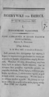 Rozrywki dla Dzieci. R. 4, T. 8, nr 47 (1827)