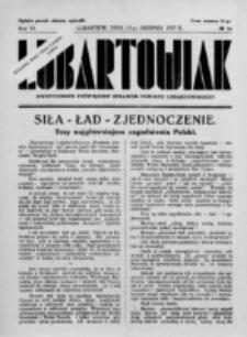 Lubartowiak : miesięcznik poświęcony wychowaniu młodzieży starszej. R. 6, nr 16 (1937)