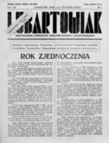 Lubartowiak : miesięcznik poświęcony wychowaniu młodzieży starszej. R. 7, nr 1 1938)