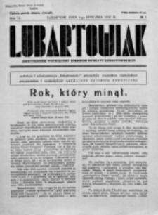 Lubartowiak : miesięcznik poświęcony wychowaniu młodzieży starszej. R. 6, nr 1 (1937)