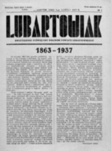 Lubartowiak : miesięcznik poświęcony wychowaniu młodzieży starszej. R. 6, nr 3 (1937)