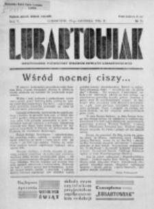 Lubartowiak : miesięcznik poświęcony wychowaniu młodzieży starszej. R. 5, nr 24 (1936)