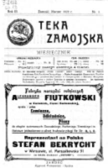Teka Zamojska. R. 3, nr 3 (1920)