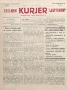 Chełmski Kurjer Ilustrowany : bezpartyjne pismo tygodniowe. R. 1, nr 28 (1925)