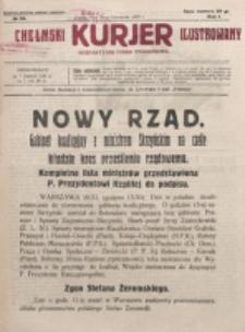 Chełmski Kurjer Ilustrowany : bezpartyjne pismo tygodniowe. R. 1, nr 38 (1925)