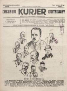 Chełmski Kurjer Ilustrowany : bezpartyjne pismo tygodniowe. R. 1, nr 39 (1925)