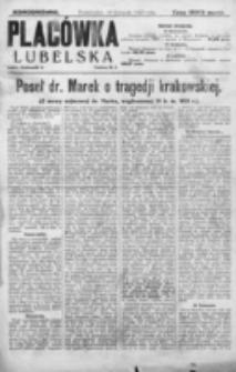Placówka Lubelska : jednodniówka. 19 listopada 1923 roku