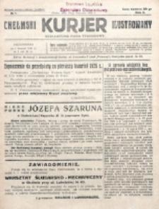 Chełmski Kurjer Ilustrowany : bezpartyjne pismo tygodniowe. R. 2, nr 1 (1926)