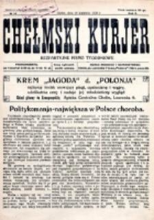 Chełmski Kurjer Ilustrowany : bezpartyjne pismo tygodniowe. R. 2, nr 14 (1926)