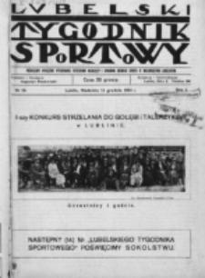Lubelski Tygodnik Sportowy. R. 1, nr 13 (1924)