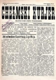 Chełmski Kurjer Ilustrowany : bezpartyjne pismo tygodniowe. R. 2, nr 16 (1926)