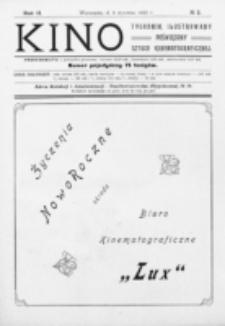 Kino : pismo ilustrowane poświęcone sztuce kinematograficznej i pokrewnym. R. 2, nr 2 (8 stycznia 1920)