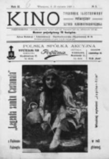 Kino : pismo ilustrowane poświęcone sztuce kinematograficznej i pokrewnym. R. 2, nr 3 (15 stycznia 1920)