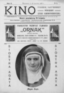 Kino : pismo ilustrowane poświęcone sztuce kinematograficznej i pokrewnym. R. 2, nr 4 (22 stycznia 1920)