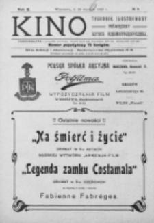 Kino : pismo ilustrowane poświęcone sztuce kinematograficznej i pokrewnym. R. 2, nr 5 (29 stycznia 1920)