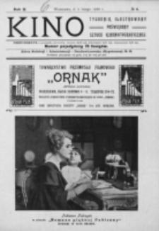 Kino : pismo ilustrowane poświęcone sztuce kinematograficznej i pokrewnym. R. 2, nr 6 (5 lutego 1920)