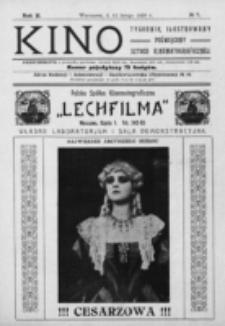 Kino : pismo ilustrowane poświęcone sztuce kinematograficznej i pokrewnym. R. 2, nr 7 (12 lutego 1920)