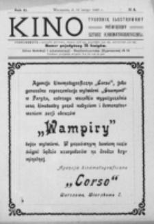 Kino : pismo ilustrowane poświęcone sztuce kinematograficznej i pokrewnym. R. 2, nr 8 (19 lutego 1920)