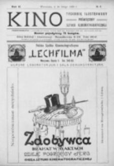 Kino : pismo ilustrowane poświęcone sztuce kinematograficznej i pokrewnym. R. 2, nr 9 (26 lutego 1920)