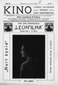 Kino : pismo ilustrowane poświęcone sztuce kinematograficznej i pokrewnym. R. 2, nr 10 (4 marca 1920)