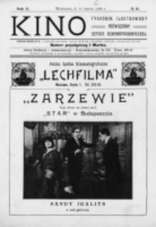 Kino : pismo ilustrowane poświęcone sztuce kinematograficznej i pokrewnym. R. 2, nr 11 (11 marca 1920)