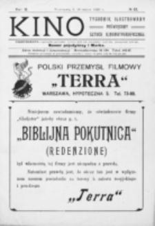 Kino : pismo ilustrowane poświęcone sztuce kinematograficznej i pokrewnym. R. 2, nr 12 (18 marca 1920)