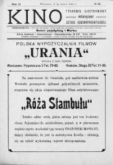 Kino : pismo ilustrowane poświęcone sztuce kinematograficznej i pokrewnym. R. 2, nr 13 (25 marca 1920)