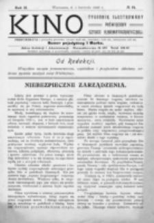 Kino : pismo ilustrowane poświęcone sztuce kinematograficznej i pokrewnym. R. 2, nr 14 (1 kwietnia 1920)