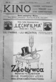 Kino : pismo ilustrowane poświęcone sztuce kinematograficznej i pokrewnym. R. 2, nr 15 (8 kwietnia 1920)