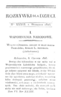 Rozrywki dla Dzieci. R. 5, T. 6, nr 33 (1826)
