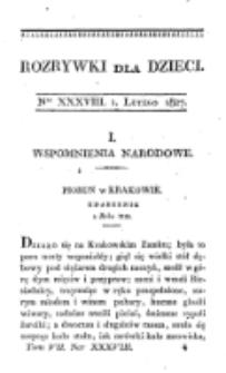 Rozrywki dla Dziec. R. 4, T. 7, nr 38 (1827)