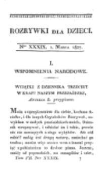 Rozrywki dla Dziec. R. 4, T. 7, nr 39 (1827)