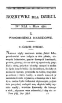 Rozrywki dla Dziec. R. 4, T. 7, nr 41 (1827)