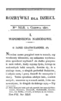 Rozrywki dla Dziec. R. 4, T. 7, nr 42 (1827)