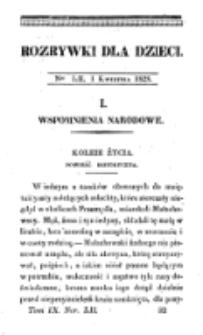 Rozrywki dla Dzieci. R. 5, T. 9, nr 52 (1828)