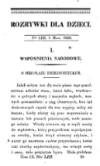 Rozrywki dla Dzieci. R. 5, T. 9, nr 53 (1828)