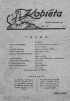 Kobieta : dwutygodnik dla kobiet poświęcony hygienie i estetyce ciała, pielęgnowaniu urody, racjonalnej kosmetyce oraz całokształtowi spraw, życia i potrzeb kobiety. R. 1=4, nr 7 (1924)