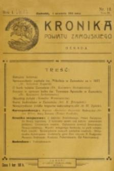 Kronika Powiatu Zamojskiego. R. 1, nr 13 (1918)