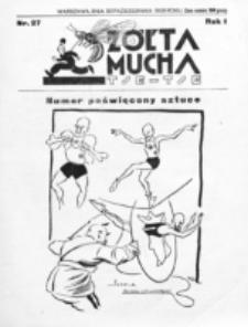 Żółta Mucha Tse-Tse. R. 1, nr 27 (30 października 1929)