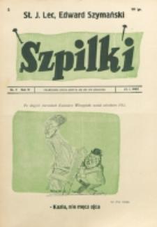 Szpilki. R. 4, nr 4 (1938)