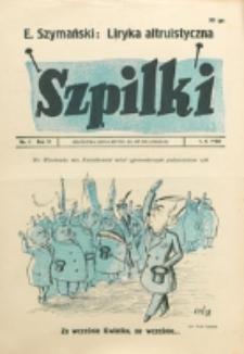 Szpilki. R. 4, nr 6 (1938)