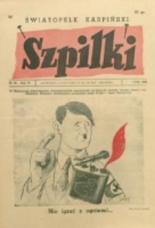Szpilki. R. 4, nr 33 (1938)