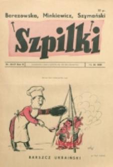 Szpilki. R. 4, nr 45/47 (1938)