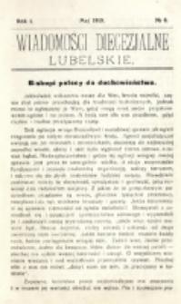 Wiadomości Diecezjalne Lubelskie, R. 1, nr 6 (1919)